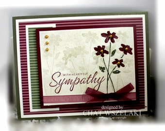 Stampin' Up With Heartfelt Sympathy Card