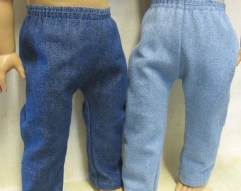 """Pants for 18"""" Boy Dolls - Assorted Colors"""