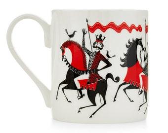 Knight Parade Mug