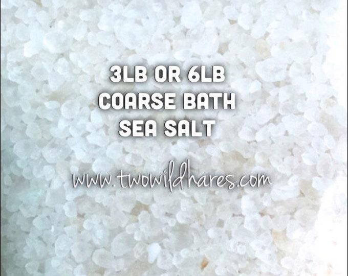 COARSE SEA Salt, Mediterranean, Solar Evaporated, European Salt