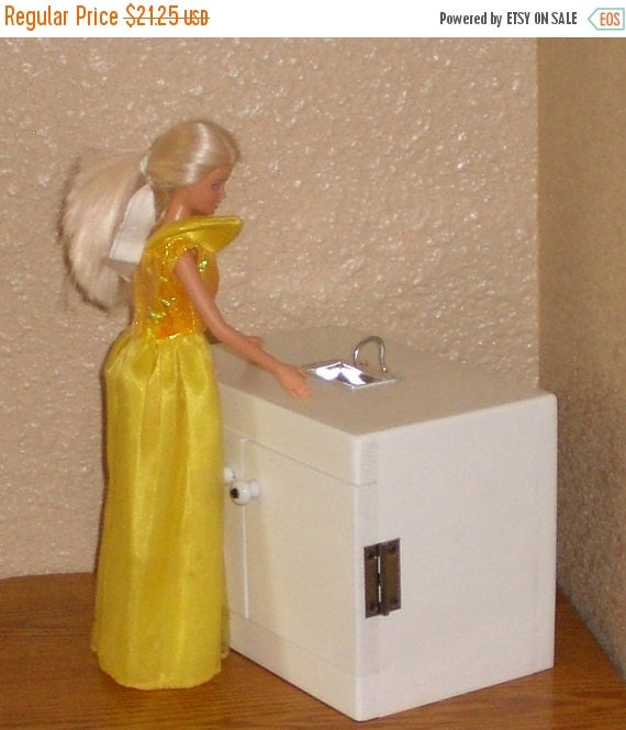 Kitchen Sink For Barbie Size Doll By Judy Illi By