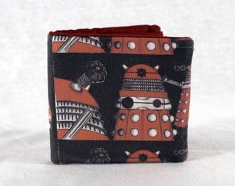 Dr. Who Dalek Single Fold Wallet
