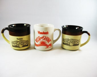 Vintage Hardee's Mug Collection
