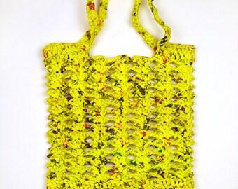 Shelly Mesh Plarn Bag - PDF Crochet Pattern - Instant Download