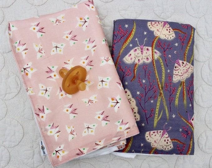 Featured listing image: Oversized Burp Cloth Set of 2 - Sleeping Porch - Fortune Teller | Boho Baby | Indie Baby