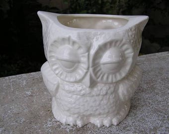 Small Tootsie Pop Owl Mini Vase