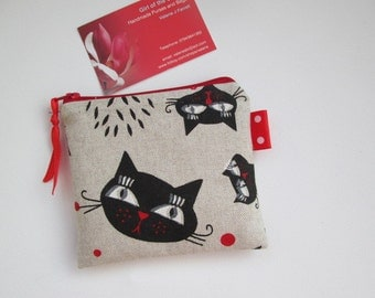 Cats Card/Coin Purse