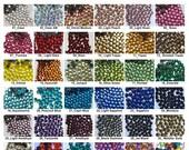 1440 pcs SS10 / 3mm DMC Iron On Hotfix Hot Fix Crystal Rhinestone FREE Shipping Clear Green Pink Blue Yellow Red Purple LR885