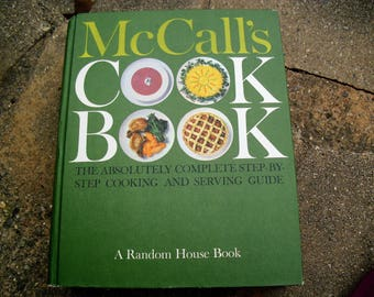 Vintage Cookbook McCall's Cook Book