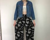 SPRING SALE 90s Wide Leg Pants, High Waisted Wide Leg Trousers, High Rise Wide Leg, Normcore, Baggy Pants, Baggy Trousers, Palazzo Pants, Hi