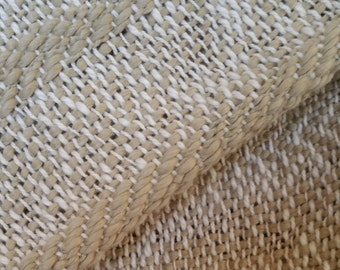 Organic Colorgrown Cotton Handwoven Baby Blanket - Forest Mist
