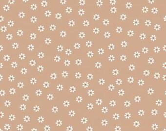 Sew cherry 2 Daisy Nutmeg by Lori Holt for Riley Blake C5803-nutmeg