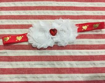 Valentines headband