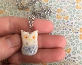 Small owl pendant
