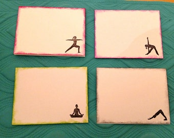 Yoga Pose Note Cards