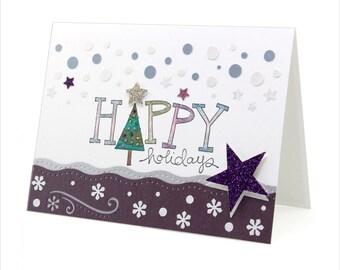 Happy Holidays - Christmas Card