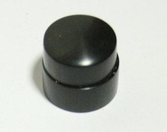 Gabon Ebony Concentric Stacked Pot Guitar Knob Set (4,77mm/6/75mm) (13/16d top; 7/8d bottom)