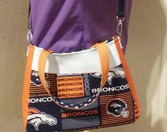 Design your own - Custom Sports team handbag, cross body purse, sports team bag, football, baseball, hockey.