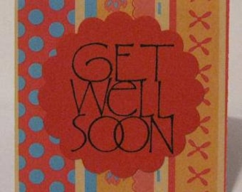 Get Well Mini Note Cards (Set of 4)