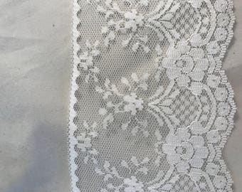 Wide Flat Lace For Sewing And Crafts Sold By The Yard