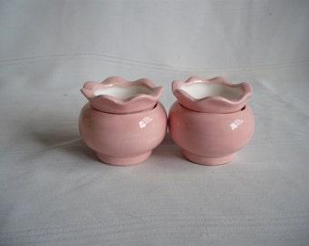 "1.5"" Ceramic African Violet Self Watering Planters / Set of 2"
