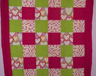 QUILT -HANDMADE UPCYCLE by Paulette Eco-Friendly