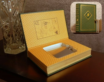 Hollow Book Flask Safe (Great Cases of Sherlock Holmes)