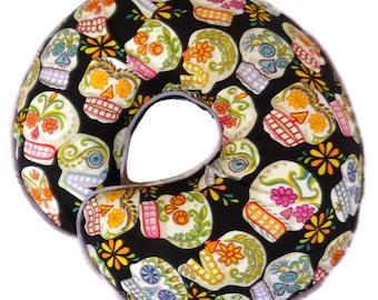 Sugar Skulls Boppy Pillow Cover Nursing Pillow Cover for baby boy or girl