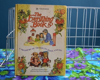 Vintage Golden Book- The Everything Book - Copyright 1974