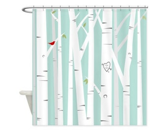 Curtains Ideas birch tree curtains : Birch tree curtain – Etsy