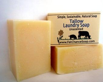 Tallow Laundry Soap