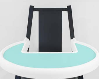 Tiffany Blue // IKEA Blames Highchair Silicone Placemat // High Chair Place Mat