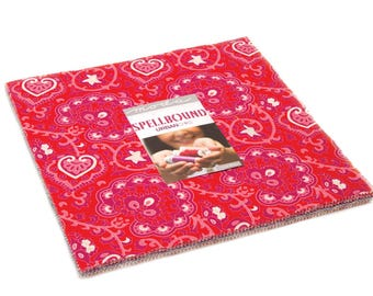 """Spellbound Layer Cake by Urban Chiks for Moda Fabrics 31110LC 42 10"""" Fabric Squares"""