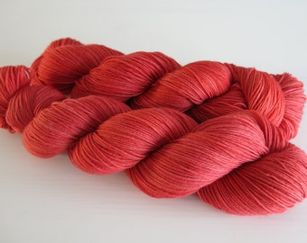 Choufunga / Only I Didn't Say Fudge / hand painted yarn / hand dyed superwash merino sock wool / yarn / indie dyer / christmas yarn ralphie