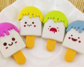 Ice Cream cute cartoon eraser