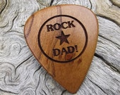 RESERVED LISTING - Wood Guitar Pick - Premium Quality - Handmade With Apricot Wood -  Custom Laser Engraved
