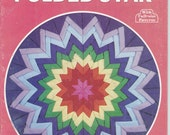 1981 Quilting with Folded Star Pattern Instruction Book 15 pages Quilt Sew Sewing