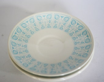 vintage chantilly saucers by royal ironstone set of three