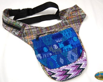 Support our Orphanage Guatemalan huipil Fanny pack hip pouch utility bag hippy