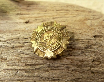 Solid Gold Vintage Remington Typewriter Co. Award Pin, Lapel Pin