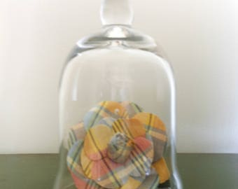 Napa handblown glass cloche