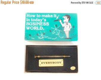 Vintage c. 1980 Funny Business World Joke Novelty - Spencer Gifts