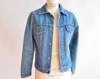 30% OFF storewide // SALE / Vintage BAY Rider denim jacket