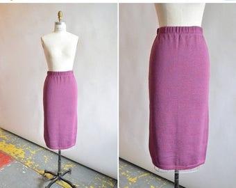 30% OFF storewide // Vintage 1980s KNIT pencil skirt
