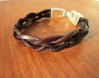 Braided leather bracelet, best friend bracelets, bracelets for Men, braided bracelets, popular bracelets, mens gift ideas, boyfriend gifts