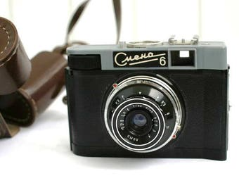 Vintage Russian Camera - Smena 6 - Lomo Film Camera - 1960s - from Russia / Soviet Union / USSR