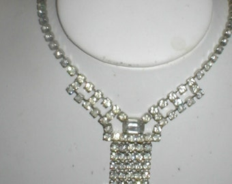 1950's Vintage Rhinestone Necklace