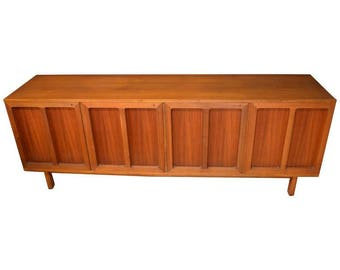 Credenza/Buffet of Teak by Karl-Erik Ekselius for J.O. Carlsson of Sweden