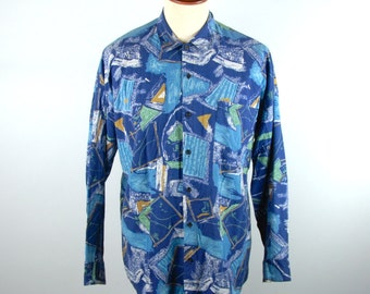 1980's Style Men's Shirt by Triumph of California