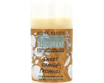Patchouli & Orange Deodorant
